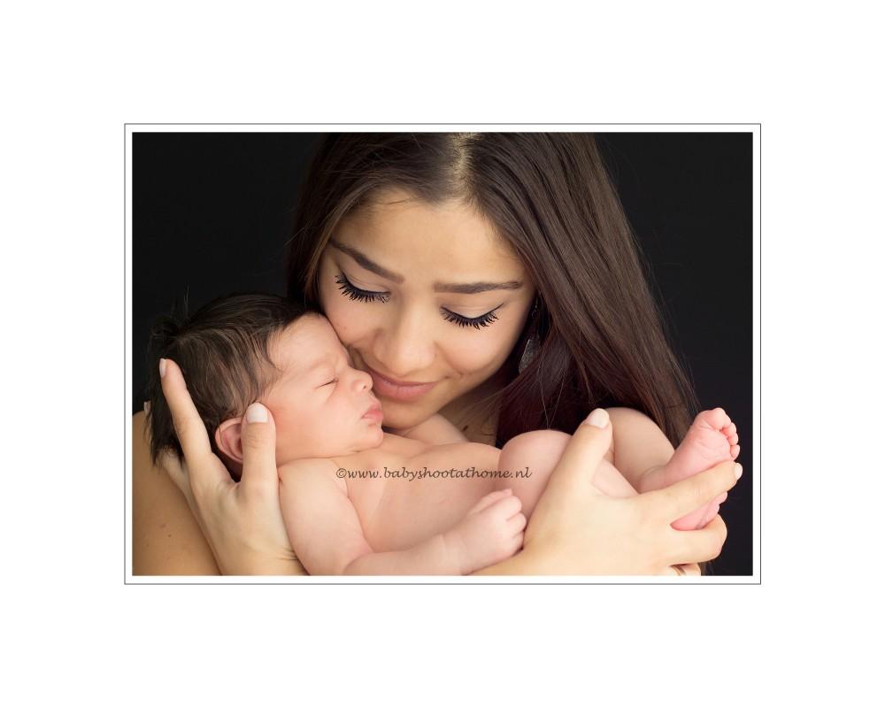 foto's pasgeboren kindje